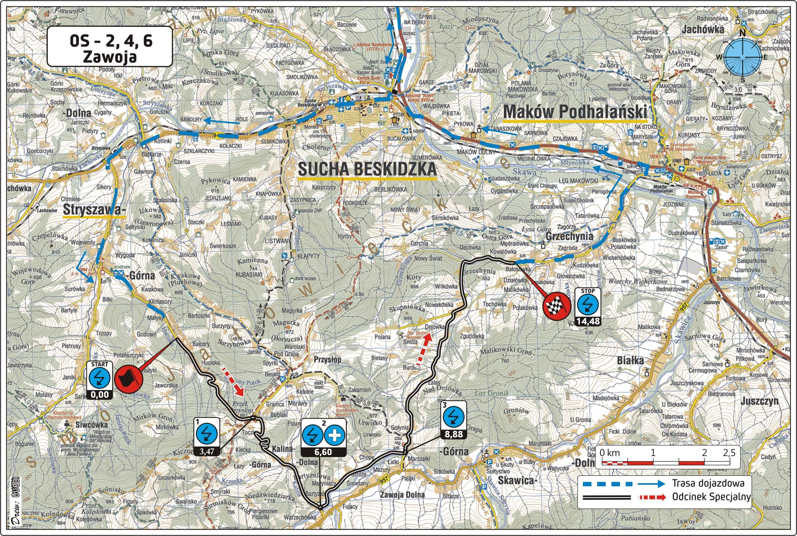 Rajd Krakowski Mapy Zostały Opublikowane